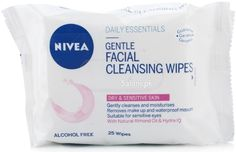 NIVEA GENTLE FACIAL CLEANSING WIPES 25 WIPES Saloni™ Health