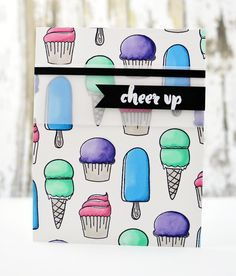 Illustrated by: May Sukyong Park This set has all things cute, sweet and edible! You will love the little ice cream bars, cupcakes and candies packed in this se