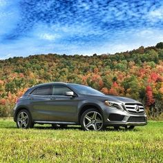 @silerroad found #fall in Vermont with the #GLA.  #MBphotocredit @silerroad  #Mercedes #Benz #GLA250 #MBPressDrive #instacar #carsofinstagram #germancars #luxury
