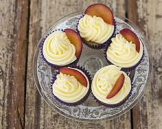 Elderflower, plum and cardamom cupcakes recipe