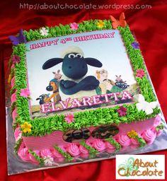 Shaun The Sheep Cake  Momizi