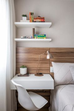 Tiny Bedroom Decorating Ideas - Tiny Bedroom Decorating Ideas, 55 Small Bedroom Design Ideas Decorating Tips for Small Study Room Decor, Room Ideas Bedroom, Small Room Bedroom, Home Bedroom, Bedroom Decor, Small Bedrooms, Bedroom Furniture, Furniture Ideas, Small Room Design