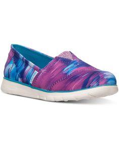 Skechers Little Girls' Pure Flex Slip-On Casual Sneakers from Finish Line
