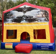 We offer free delivery within a radius of Cooroy & provide quality jumping castles to Gympie Council and Sunshine Coast Council residents. Obstacle Course, Basketball Hoop, Sunshine Coast, Sun Protection, Castles, Book, Chateaus, Book Illustrations, Books