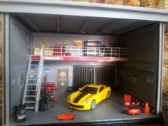 Garage car skala 1:32