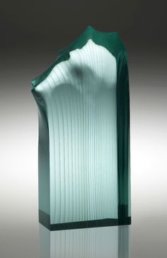 FLAME Molten, cut and polished glass – float Photo: Jiri Koudelka