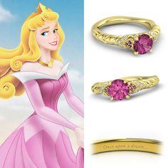 Disney Princesse bagues de fiançailles: Sleeping Beauty
