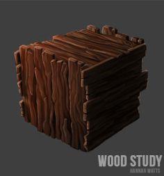 Wood Plank Study // Hannah Watts // #textures