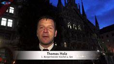 Aufstellung am Morgen: Christbaum 2014 für den Marienplatz kommt aus Kochel a. See