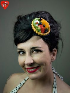Hey, I found this really awesome Etsy listing at https://www.etsy.com/listing/103084301/fruit-tart-fascinator