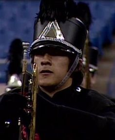 Markiplier in marching band, proves marching band is cool