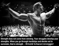 Arnold on Strength.