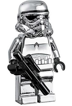 LEGO Star Wars Silver Storm Trooper by Mostly Bricks