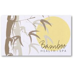 45 best asian zen business cards images on pinterest name cards oriental asian yellow sunrise bamboo leaves zen business card colourmoves