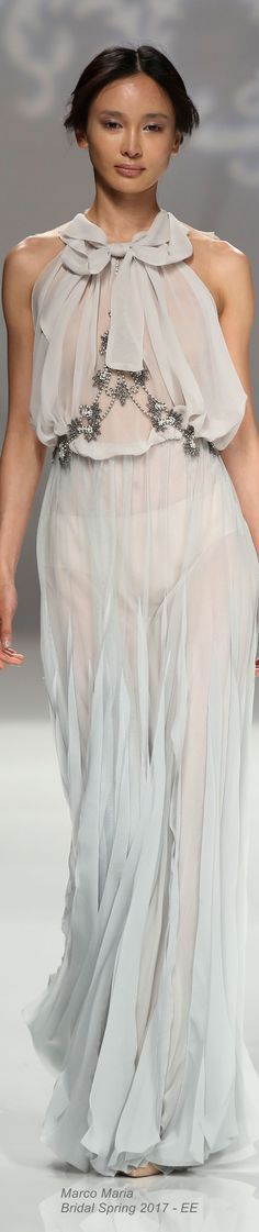 Marco Maria Bridal Spring 2017  @roressclothes closet ideas #women fashion outfit #clothing style apparel
