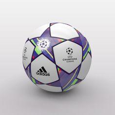 UEFA Champions League Ball 2011-2012 3D Model .max .c4d .obj .3ds .fbx .lwo .stl…