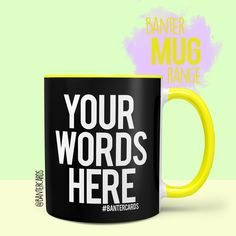 You asked. We delivered! Our mug range isn't for the easily premium mugs. Our mugs are dishwasher and microwave safe. Funny Mugs, Funny Gifts, Coffee Cup Pictures, Make Your Own Mug, Customised Gifts, Picture Gifts, Funny Cards, Custom Mugs, Be Yourself Quotes