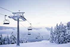Empty Chair Ski Lift on Bright Winter Day Free Stock Photo Download | picjumbo