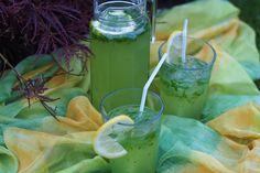 Basilikum Ingwer Limonade