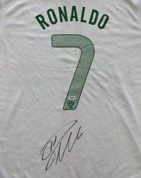 de1e467be Cristiano Ronaldo Autographed Signed Nike Portugal Jersey PSA DNA Product  Features Certified Authentic and Backed by our Sports Memorabilia