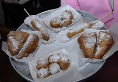 Assortment of deep fried treats from Coffee Break at The Big E!