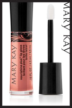 This MK NouriShine Plus Lip Gloss has vitamins A and E Saturated with moisturisers and conditioners. http://wu.to/Su2PA7 #MaryKay #MyMKLife #Makeup #Beauty #mymklife