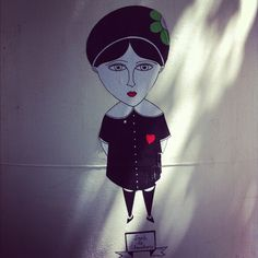 Fred Le Chevalier - Centre George Pompidou #StreetArt #Collage