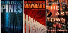 The Wayward PInes Trilogy by Blake Crouch.  This one will take you by surprise.  Excellent!!