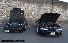 ca18det and sr20det in close company #s13 #s14 #s14a #180sx #200sx #240sx #turbo #coupe #hatchback #jdm #drift #drifting #drifteddaily #driftcar #car #cars #nissan