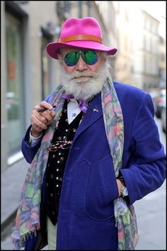 Des personnes âgées ultra-tendances | #fénoweb #mode #tendance