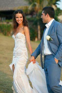 J Aton wedding dress