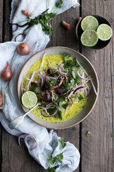 Vegan Thai Soup, Khao Soi Soup | The Little Plantation Blog