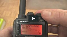 How to work low Earth orbit (LEO) satellites with a handheld radio and a directional antenna. Radios, Hf Radio, Ham Radio Operator, Ham Radio Antenna, Survival Prepping, Survival Gear, Emergency Preparation, Survival Stuff, Survival Equipment