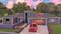 My Building Plans South Africa – Building Industry Marketplace My Building, Building Plans, Architect Design House, House Design, 5 Bedroom House Plans, Double Garage, Open Plan, Master Suite, South Africa