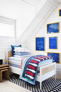 Home decor mecca Serena + Lily recently unveiled their latest store design: an amazingly historic renovation project that fits in perfectly with the brand. Small Boys Bedrooms, Kids Rooms, Room Boys, Girls Bedroom, Kids Bedroom Designs, Plank Walls, Home Office, Headboards For Beds, Home Collections