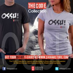 Ossu! T-Shirt for Men. A lot of us used this word way before knowing its meaning. But the real meaning takes years to be fully understood. So short. So simple. So powerful. https://shihan-essence.myshopify.com/products/ossu-t-shirt-for-men
