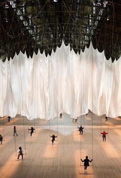 Ann Hamilton's 'the event of a thread' installation at Park Avenue Armory