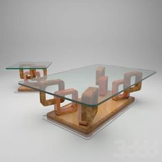 Modern Glass Coffee Table, Unique Coffee Table, Coffe Table, Centre Table Living Room, Center Table, Weird Furniture, Table Furniture, Tea Table Design, Space Saving Table