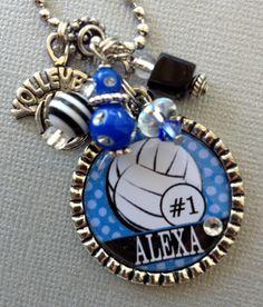Volleyball Senior Gifts, Volleyball Necklace, Senior Night Gifts, Volleyball Tips, Cheerleading Gifts, Cheer Gifts, Basketball Gifts, Team Gifts, Volleyball Room