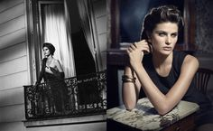 Vincent Peters' simply beautiful story for Vogue Italia featuring Isabeli Fontana.