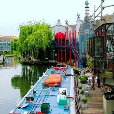 Camden Town, Regent´s Canal, London