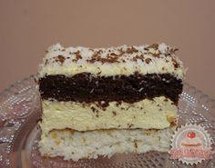Receptek, és hasznos cikkek oldala: Raffaello kocka Hungarian Recipes, Hungarian Food, Vanilla Cake, Coco, Nutella, Tiramisu, Ale, Dessert Recipes, Food And Drink