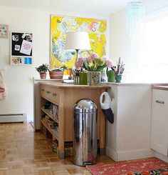 ikea, kitchen against wall