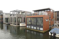Houseboat Living -- Amsterdam