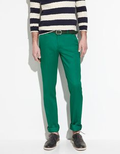 TROUSERS WITH SIDE BUTTON TABS - Trousers - Man - ZARA