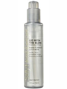 A dab of this Sally Hershberger Go With the Blow Thermal Styler produces a straighter, smoother blowout, even if you're all thumbs with a round brush.