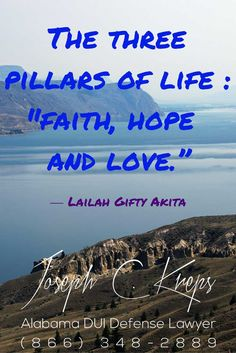 "#DUI #Attorney #Monroeville #Alabama - We are here now to help you with your Monroeville DUI #charges. Call Today.""The three pillars of life;faith, hope and love."" ― Lailah Gifty Akitahttps://www.krepslawfirm.com/blog/dui-attorney-monroeville-alabama/ - #KLF"