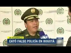 CAPTURAN FALSO POLICIA EN PLENA CAPITAL DE COLOMBIA
