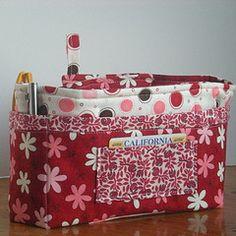purse organizer that I made