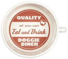 ORE Pet Doggie Diner Bowl - Red -- You can find out more details at the link of the image.